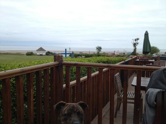 The Ancient Mariner Inn: View from decking