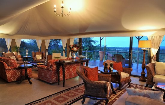 The Elephant Camp: The Lounge