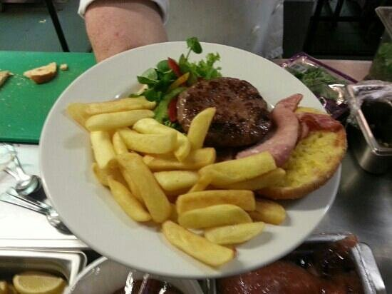 The Hampshire Restaurant: Informal dining...Burger & Chips