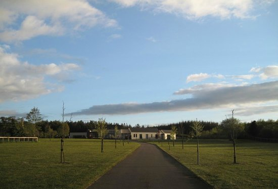 Moorfield Lodge Boutique B&B: View from the entrance