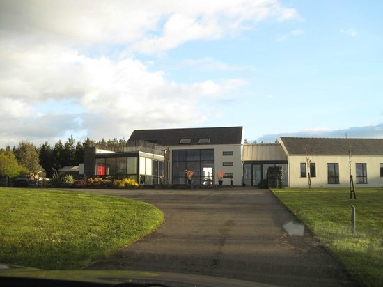 Moorfield Lodge Boutique B&B: Lodge from the outside