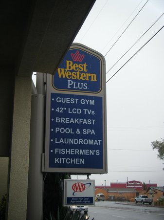 BEST WESTERN Bishop Lodge: Signage