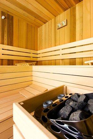 Charming Brugge: the sauna