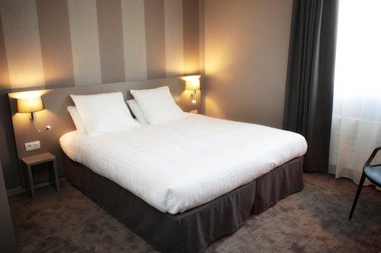 Hotel Le Galion: Les chambres équipées de lit King Size