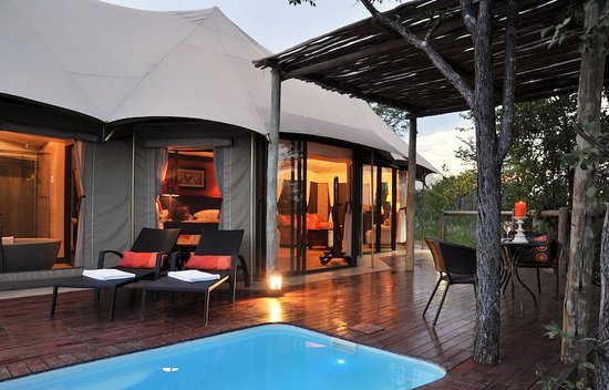 The Elephant Camp: Your private plunge pool awaits