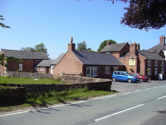 The Old Forge: View from Church gate.