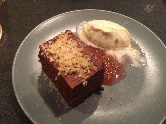Lækker dessert :)   billede af lei k   køkken & bar, odense ...