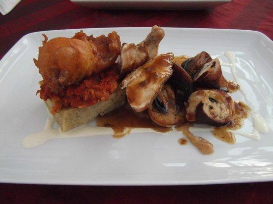 Essence Restaurant: Trio of Chicken