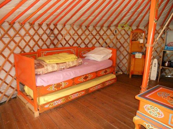 Le Domaine de Kervallon: Les lits à une place