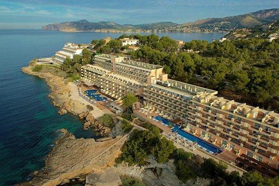 Aerial view picture of iberostar suites hotel jardin del for Jardine del sol