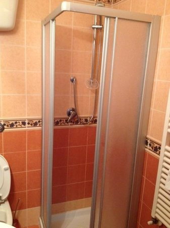 B&B Siena in Centro: tiny shower
