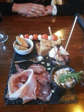 A Chabraca : assiette apéritive