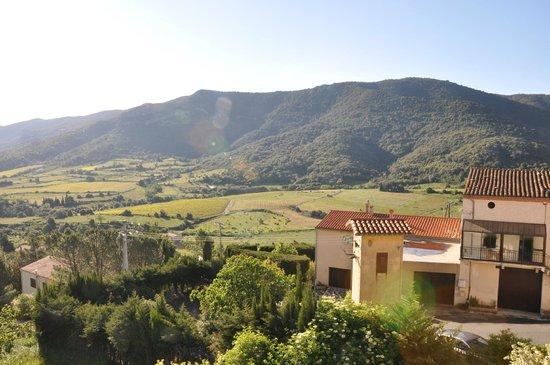 L'Écurie de Cucugnan : View from the kitchen