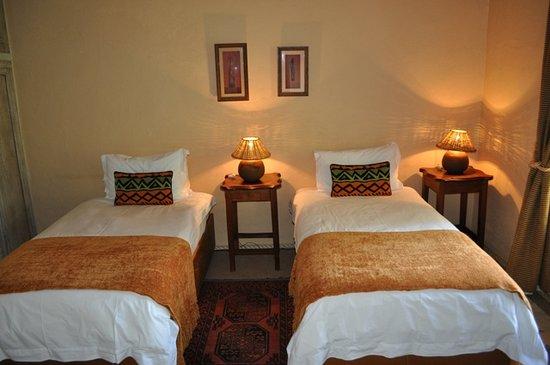 Kaya Khutso Luxury Guest House: Twin Room