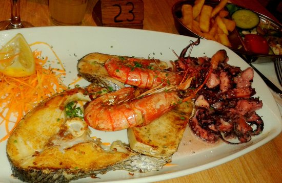 Il Fanal : Seafood Misto