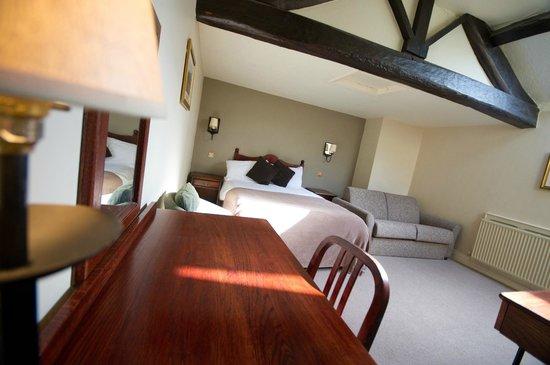 Bedroom at the Innkeeper's Lodge Castleton, Peak District