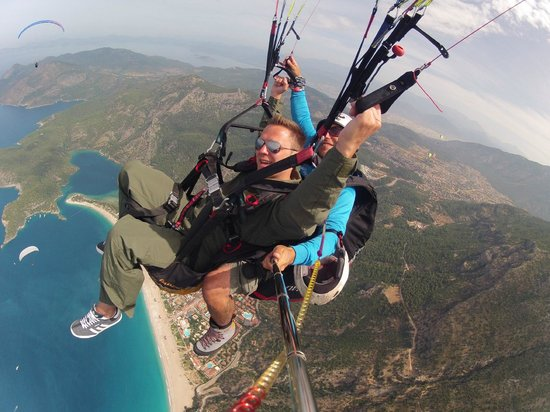 Reaction Paragliding: amazing views of olu deniz and blue lagoon