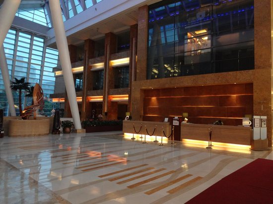 Crowne Plaza Beijing International Airport: Lobby