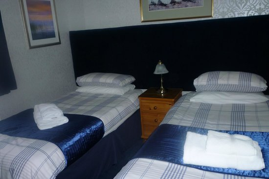 Dionard Guest House: Twin room on the ground floor