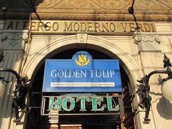 Best Western Hotel Moderno Verdi : Moderno Verdi Entrance