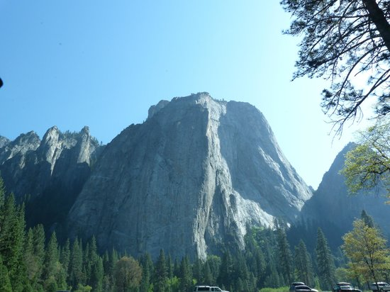 Evergreen Lodge at Yosemite Restaurant: Yosemite National Park truly takes your breath away
