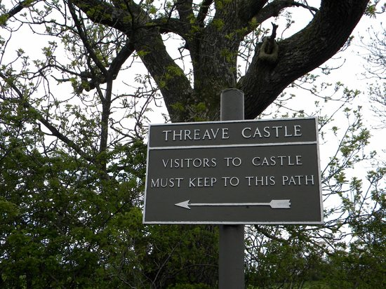 Threave Castle: easy to find