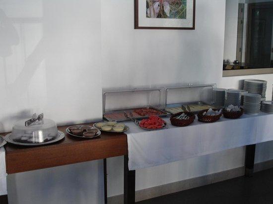 Hotel Glaros: Buffet ontbijt