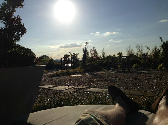 Grosvenor Pulford Hotel & Spa: Secret garden