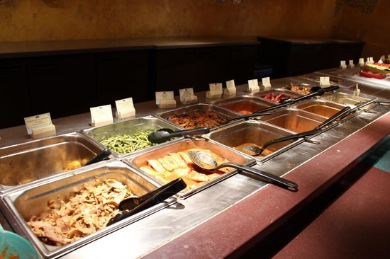 Agrabah Cafe: buffet