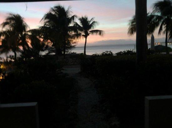 Plaza Resort Bonaire: Uitzicht Oceaan kamer