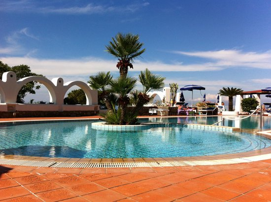 Hotel Poggio Aragosta: piscina