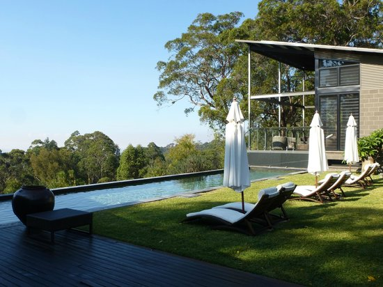 Spicers Sangoma Retreat: pool overlooking the great views