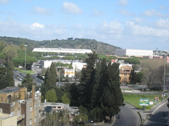 Clodia House: Panorama visibile dall appartamento