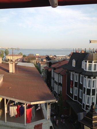 Osmanhan Hotel: view to the Bosphorus