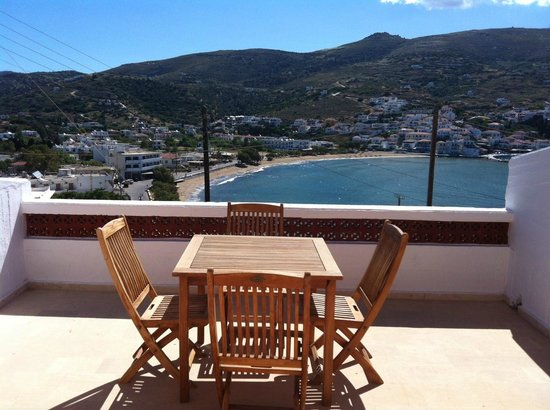 Mare Vista Hotel - Epaminondas: Big terrace