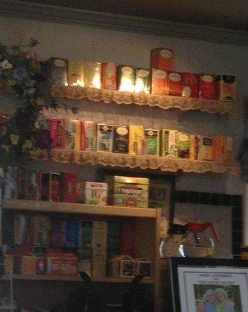 Robinson's Tea Room: Teas