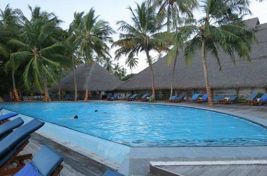 Medhufushi Island Resort: piscine