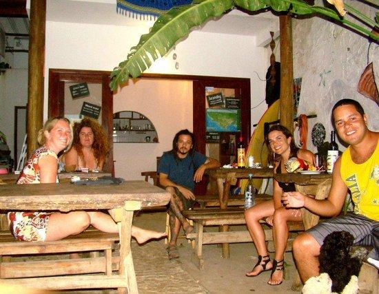 Buddy's Hostel e Pousada : Area das refeições