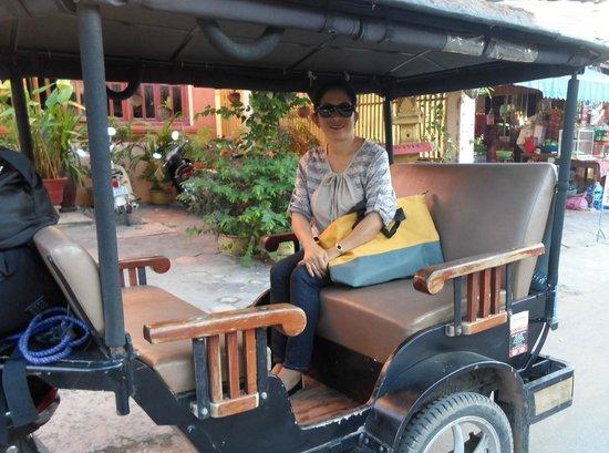 Avatar Angkor Hotel: tuk-tuk