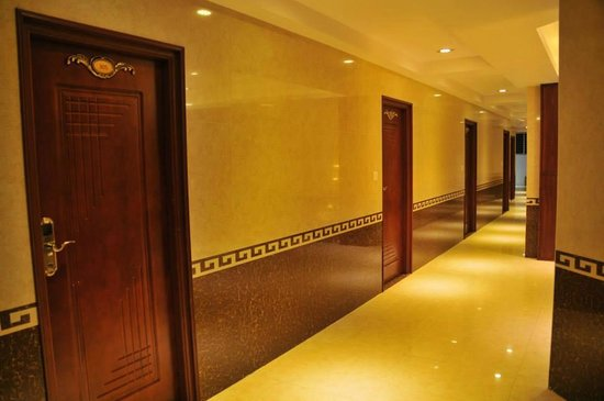 Hotel Silver Star: Corridor