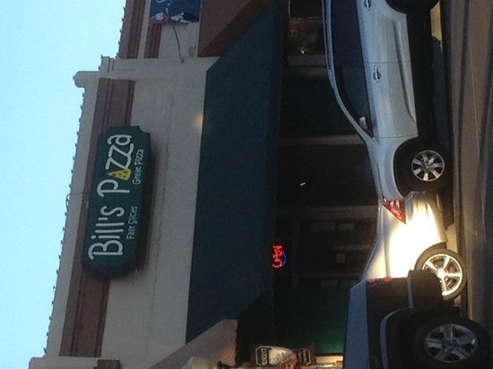 Bill's Pizza: Bill's out front