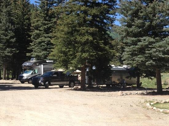 Priest Gulch Campground , RV Park, Cabins & Lodge: sites 81-84