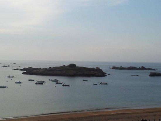Hotel De La Mer : Depuis la terrasse