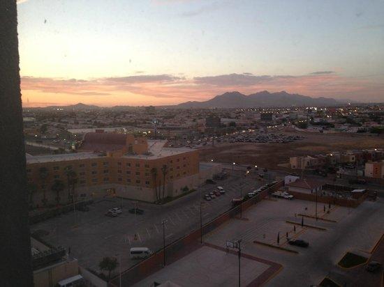 Real Inn Ciudad Juárez: Vista desde la habitación del piso 8