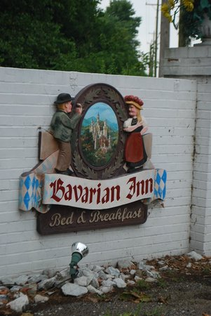 Bavarian Inn: Look for this sign from the road