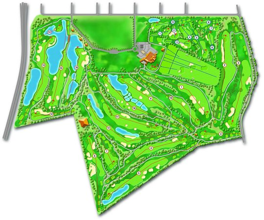 Sherry Golf Jerez : Layout