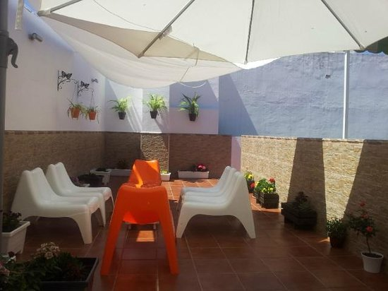 Pension Dona Trinidad : Roof terrace