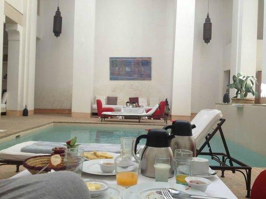 Hotel & Spa Riad Al Jazira : Colazione