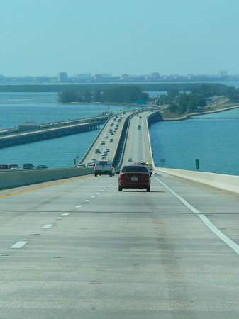 Sunshine Skyway Bridge: Sunshine Skyway tolles Panorama