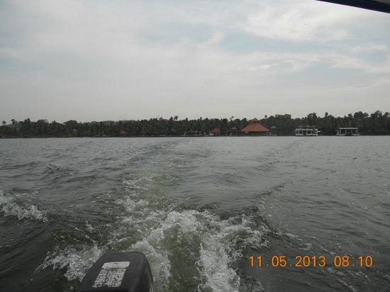 Estuary Island: Bye Bye Estuary.  We shall come again.